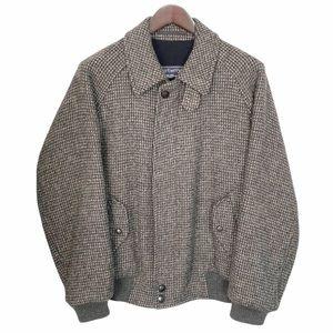 Burberry Wool Check Jacket/Coat SZ 42